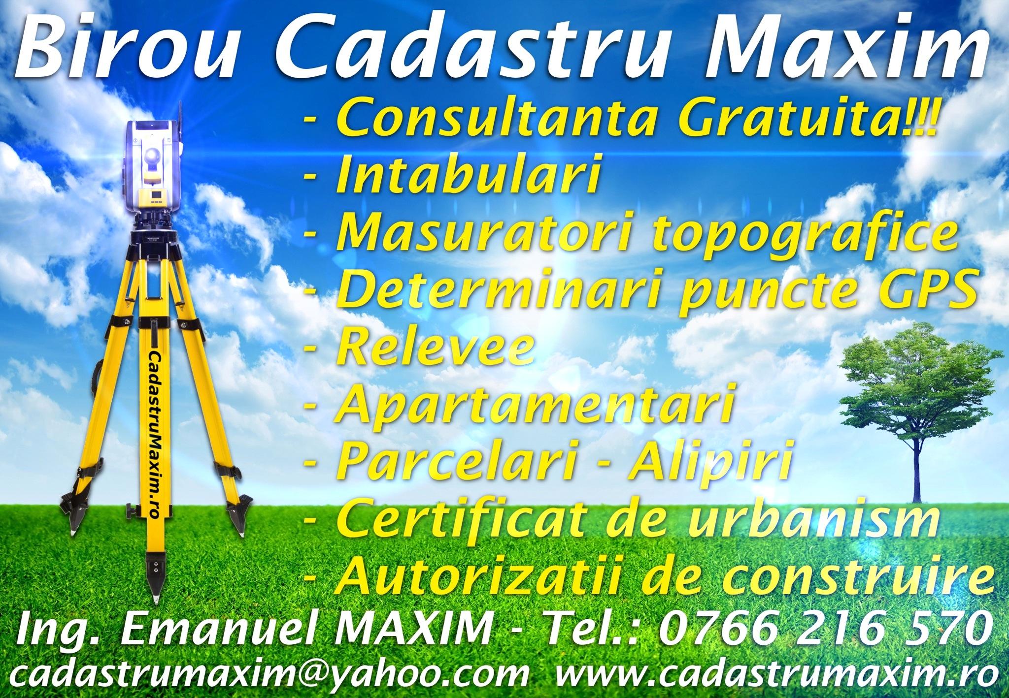 Birou Cadastru Maxim